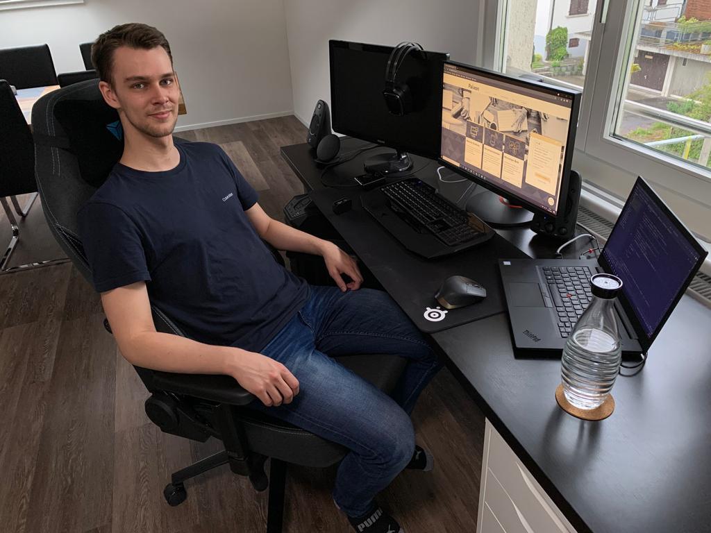 Jorrit, Junior Software Engineer bei Paixon